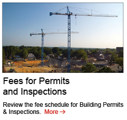 Fees for Permits and Inspections