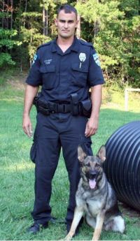 Officer David Funk and M.J.
