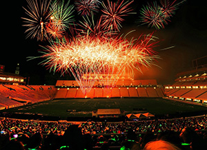 Fireworks-at-Kenan-Stadium