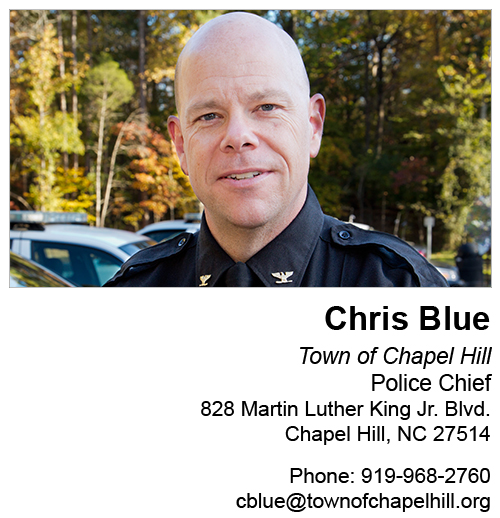 Image result for Police Chief Chris Blue