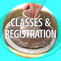 CLAY CLASSES AND REGISTRATION