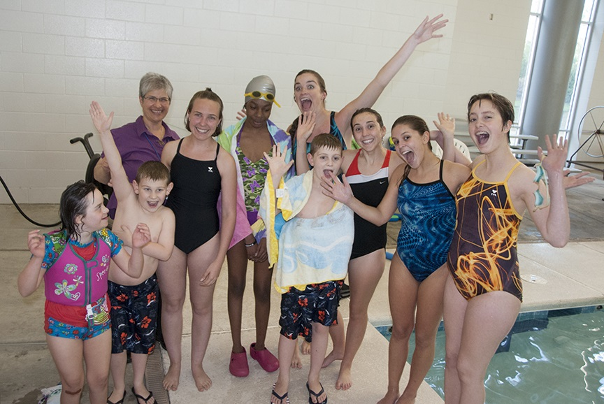 Group Photo from Adapted Aquatics