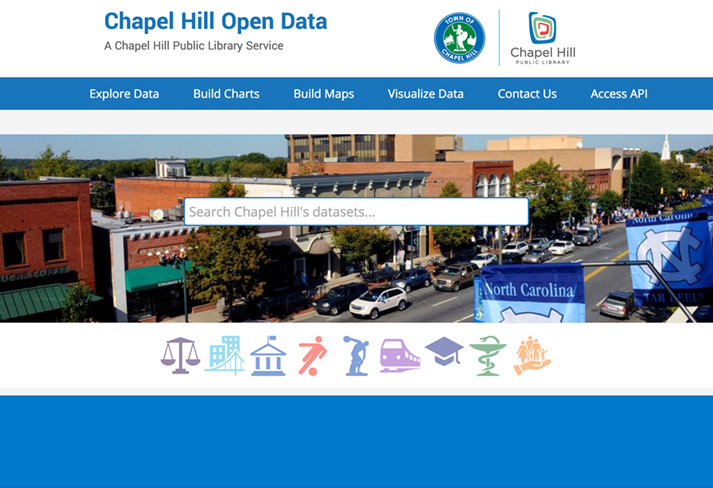 OPEN DATA WEB PAGE