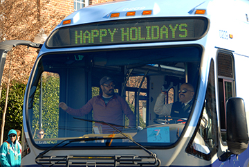 HAPPY HOLIDAYS FROM CHAPEL HILL TRANSIT
