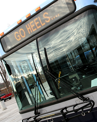TRANSIT BUS GO HEELS