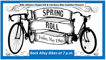 SPRING ROLL BIKE RIDE