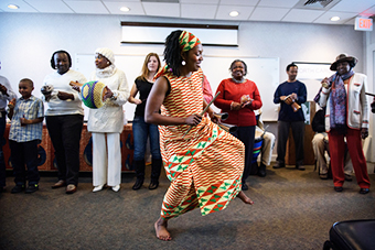 DANCING STORIES AT THE LIBRARY
