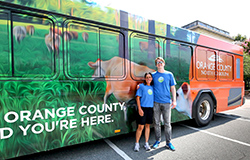 ORANGE COUNTY BUS AD