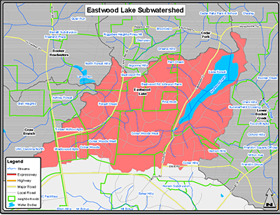 EASTWOOD LAKE SUBWATERSHED