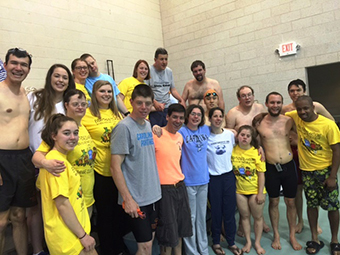 SPECIAL OLYMPICS SWIMMERS