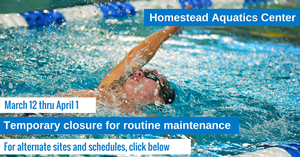 Homestead Aquatics Closure