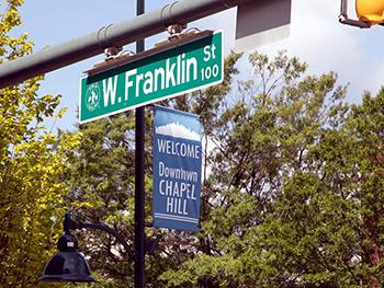 W.Frankliin Street Sign_350
