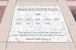 Chapel Hill Peace and Justice Plaza