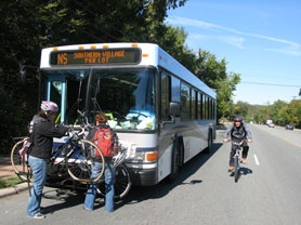 Bike and Bus