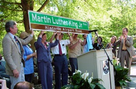 Martin Luther King Jr. Boulevared Dedication