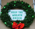 """Keep the Wreath Green"" and CHFD Tree Tag Program"