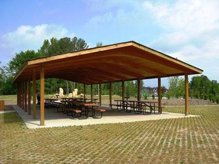 SCP Large Picnic Shelter