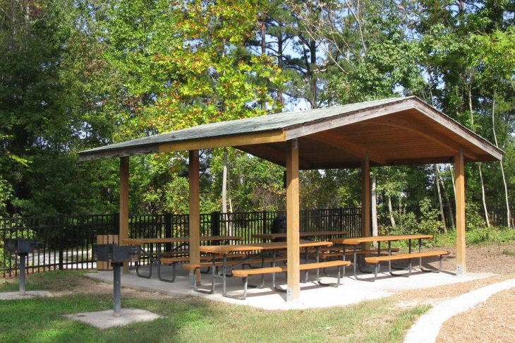 SCP Small Picnic Shelter