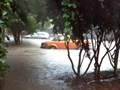 PHOTO: Car in floodwaters