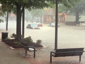 PHOTO: Franklin Street Flooded