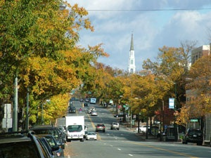 PHOTO: Franklin Street in the Fall