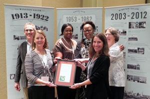 PHOTO Chapel Hill 2020 receives NCAPA Award