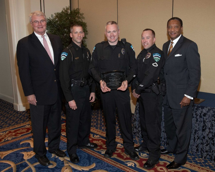 Traffic Award received by CHPD