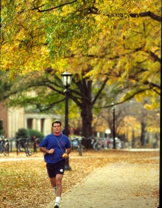 Optimized-Runner on the UNC Campus