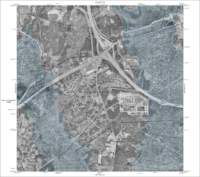 FEMA Digital Flood Insurance Rate Maps | Town of Chapel Hill, NC on