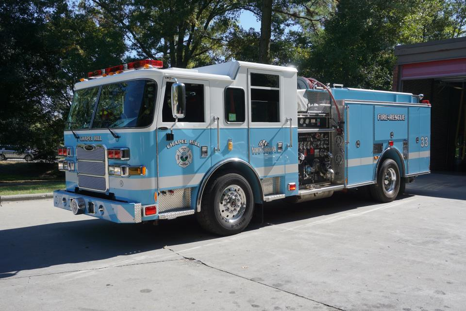 2012 F250 For Sale >> Fire Apparatus | Town of Chapel Hill, NC