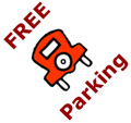 Free Parking Downtown on Holidays and Every Saturday in December