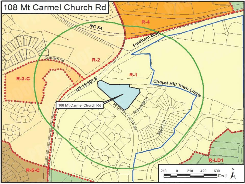 108 Mt Carmel Map