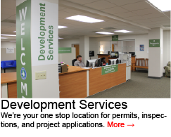 Go to Development Services