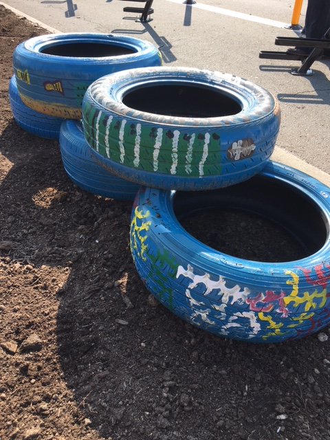 Painted Tires