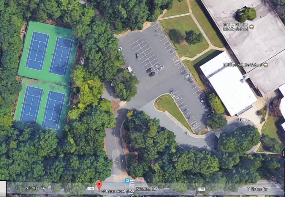 Phillips Tennis Courts