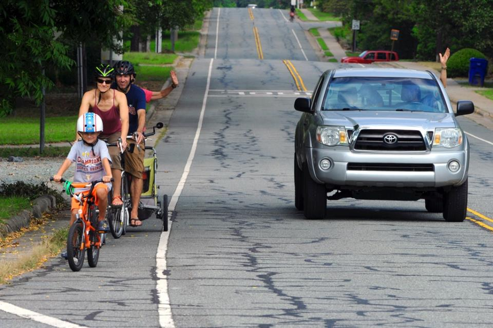 Safe bicyclists and motorists