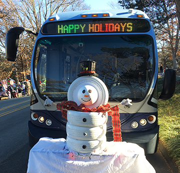 HAPPY HOLIDAYS BUS