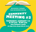 Community Invited to Provide Feedback on Rogers Road Neighborhood Re-Zoning