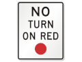 No Right on Red at 16 Chapel Hill Intersections
