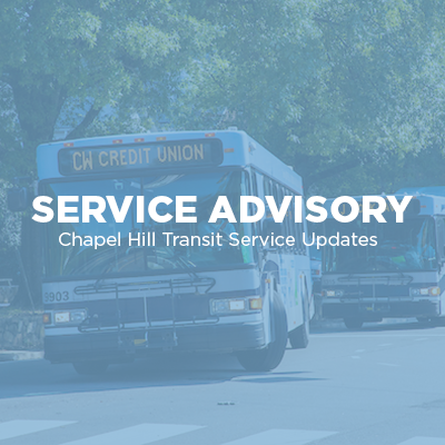 Chapel Hill Transit to modify service