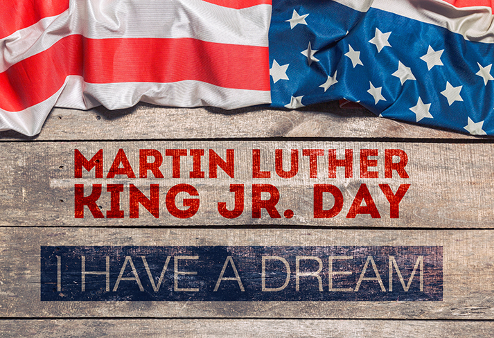 Martin Luther King Jr Day 713x488