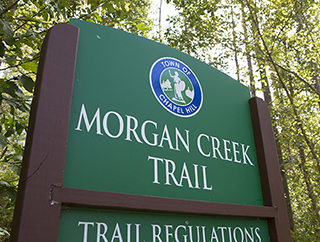 MORGAN CREEK TRAIL SIGN