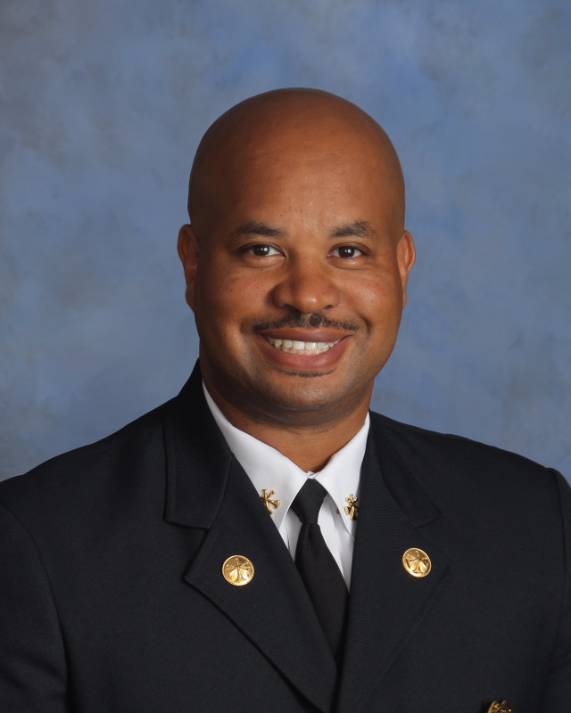 Fire Chief Vencelin Harris (portrait)