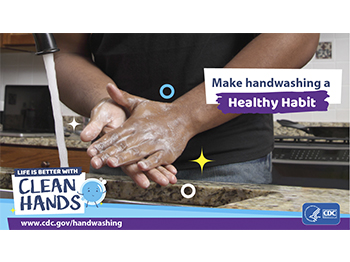 Clean Hands CDC Graphic