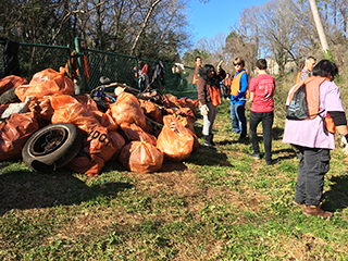 CARRBORO STREAM CLEANUP