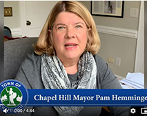 VIDEO FROM MAYOR PAM HEMMINGER