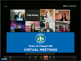TOWN OF CHAPEL HILL VIRTUAL MEETINGS