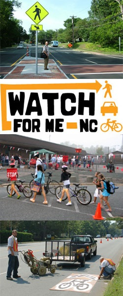 Watch for Me NC--Bikers and Pedestrians