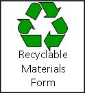 Recyclable Materials Form