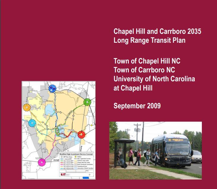 Chapel Hill and Carrboro 2035 Long Range Transportation Plan